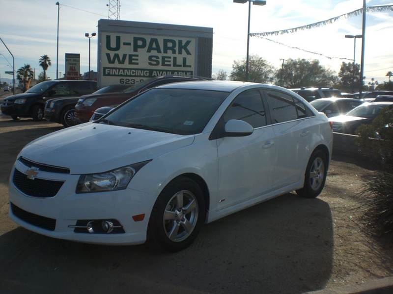 2011 CHEVROLET CRUZE LT 4DR SEDAN W1LT 2-stage unlocking doors abs - 4-wheel air filtration ai