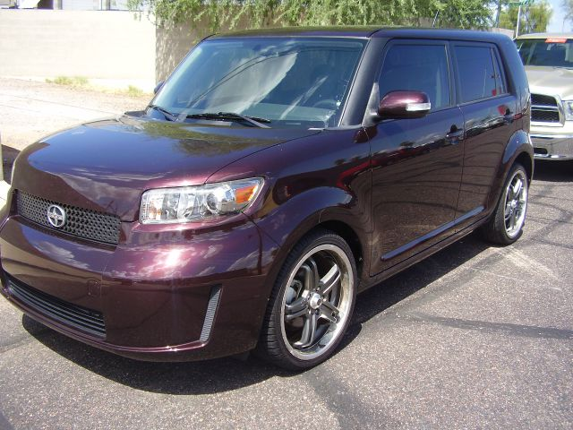 2008 SCION XB BASE 4DR WAGON 4A maroon abs - 4-wheel antenna type - mast armrests - drivers seat