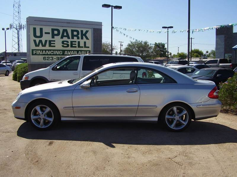 2005 MERCEDES-BENZ CLK-CLASS CLK320 2DR COUPE silver abs - 4-wheel anti-theft system - alarm ce