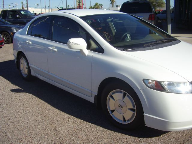 2007 HONDA CIVIC HYBRID 4DR SEDAN white 2-stage unlocking - remote abs - 4-wheel air filtration