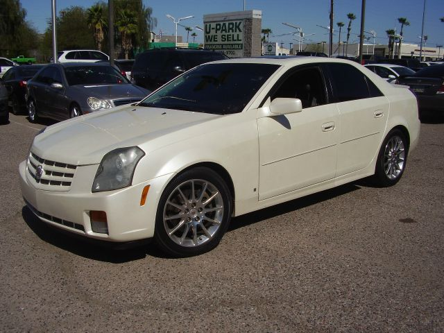 2007 CADILLAC CTS BASE 4DR SEDAN white 2-stage unlocking - remote abs - 4-wheel antenna type -