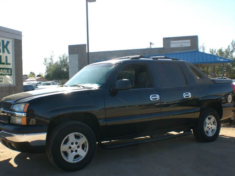 2004 CHEVROLET AVALANCHE 1500 4DR CREW CAB SB RWD abs - 4-wheel anti-theft system - alarm axle r