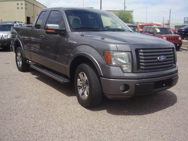 2010 FORD F-150 STX 4X2 4DR SUPERCAB STYLESIDE 6 abs - 4-wheel airbag deactivation - occupant sen
