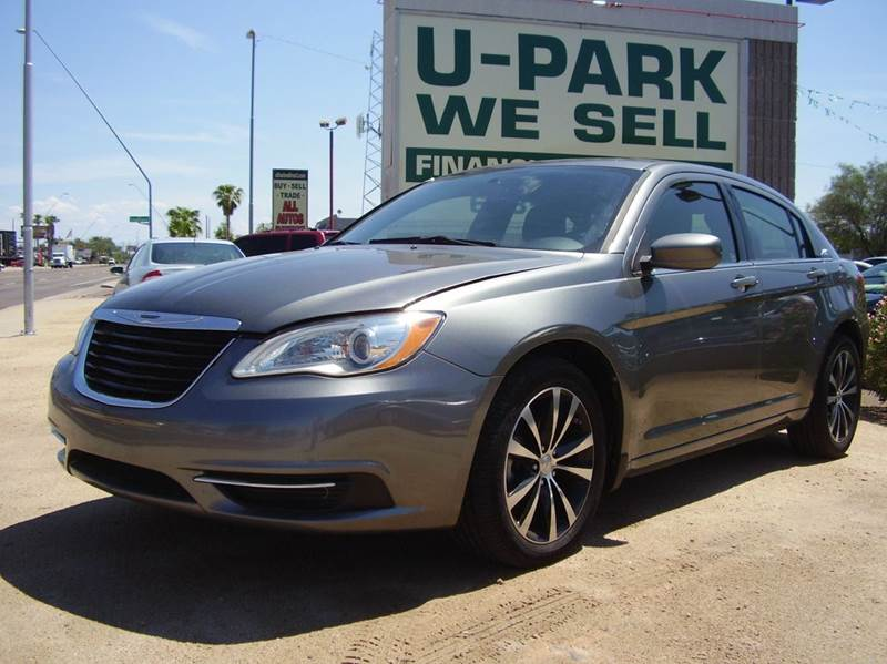 2013 CHRYSLER 200 TOURING 4DR SEDAN 2-stage unlocking - remote abs - 4-wheel active head restrai