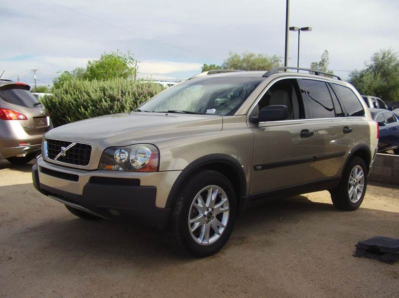 2005 VOLVO XC90 25T AWD 4DR TURBO SUV silver abs - 4-wheel anti-theft system - alarm center co