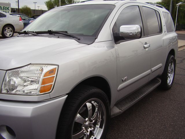 2006 NISSAN ARMADA SE OFF-ROAD 4DR SUV 4WD silver 4wd type - on demand abs - 4-wheel adjustable