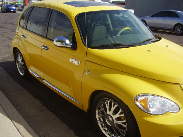 2006 CHRYSLER PT CRUISER TOURING 4DR WAGON antenna type anti-theft system - alarm anti-theft syst