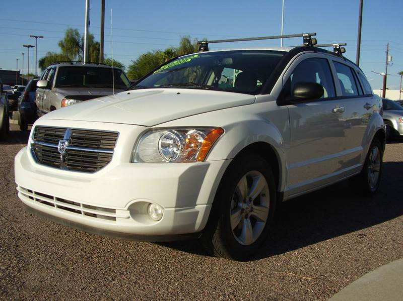 2012 DODGE CALIBER SXT 4DR WAGON white 2-stage unlocking - remote abs - 4-wheel active head res