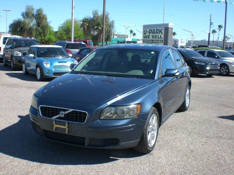 2006 VOLVO S40 24I 4DR SEDAN abs - 4-wheel active head restraints - dual front air filtration