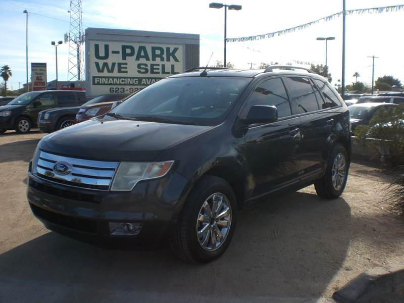 2007 FORD EDGE SEL PLUS 4DR SUV 2-stage unlocking doors abs - 4-wheel airbag deactivation - occu