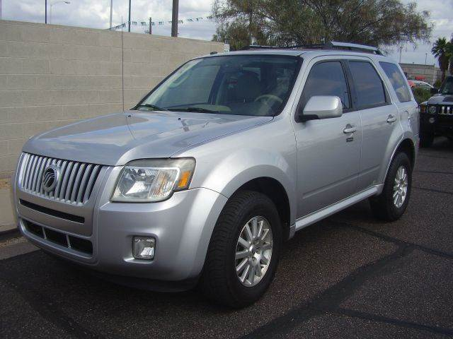 2010 MERCURY MARINER PREMIER I4 4DR SUV silver 2-stage unlocking - remote abs - 4-wheel active