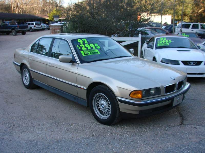 1997 bmw 7 series 740i 4dr sedan in lacombe la deals on. Black Bedroom Furniture Sets. Home Design Ideas