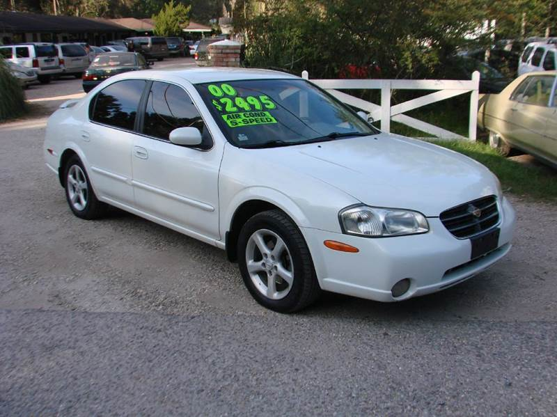 2000 nissan maxima se 4dr sedan in lacombe la deals on. Black Bedroom Furniture Sets. Home Design Ideas