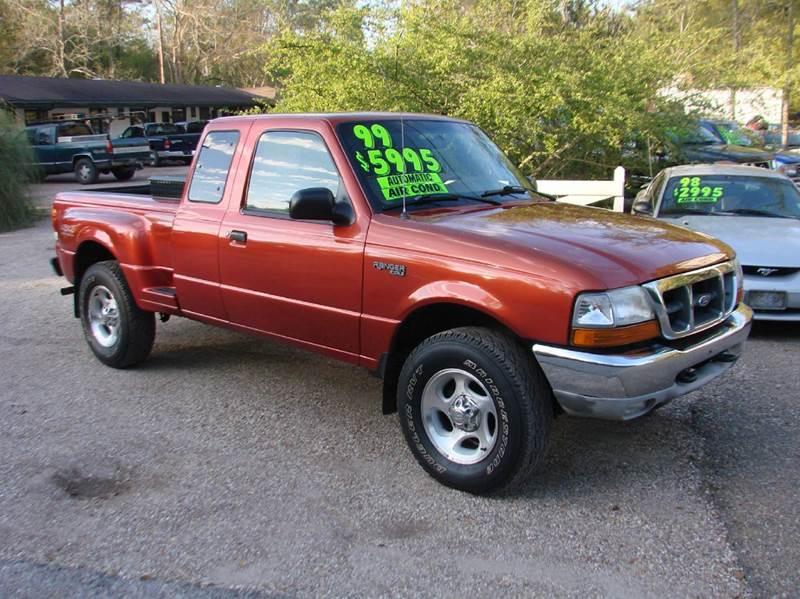 1999 ford ranger 2dr xlt 4wd extended cab sb in lacombe la deals on wheels llc. Black Bedroom Furniture Sets. Home Design Ideas