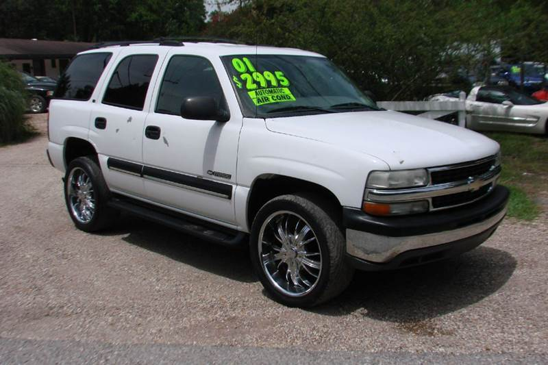2001 chevrolet tahoe ls 2wd 4dr suv in lacombe covington. Black Bedroom Furniture Sets. Home Design Ideas