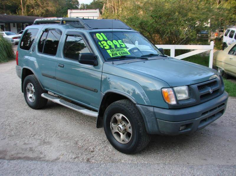 2001 nissan xterra xe v6 2wd 4dr suv in lacombe la deals on wheels llc. Black Bedroom Furniture Sets. Home Design Ideas