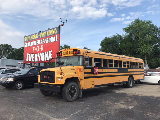 1998 Blue Bird School Bus  - Wyoming MI