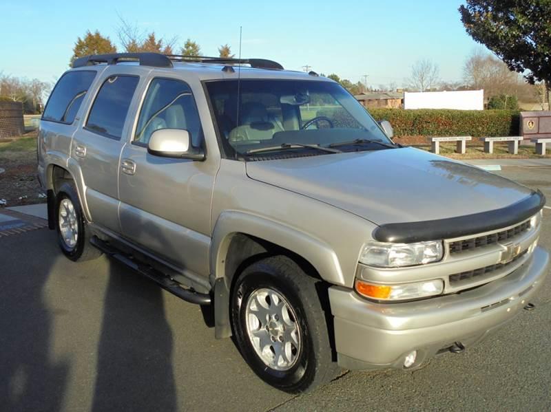 Chevrolet Tahoe Suv In Charlotte Nc Turn Key Motors