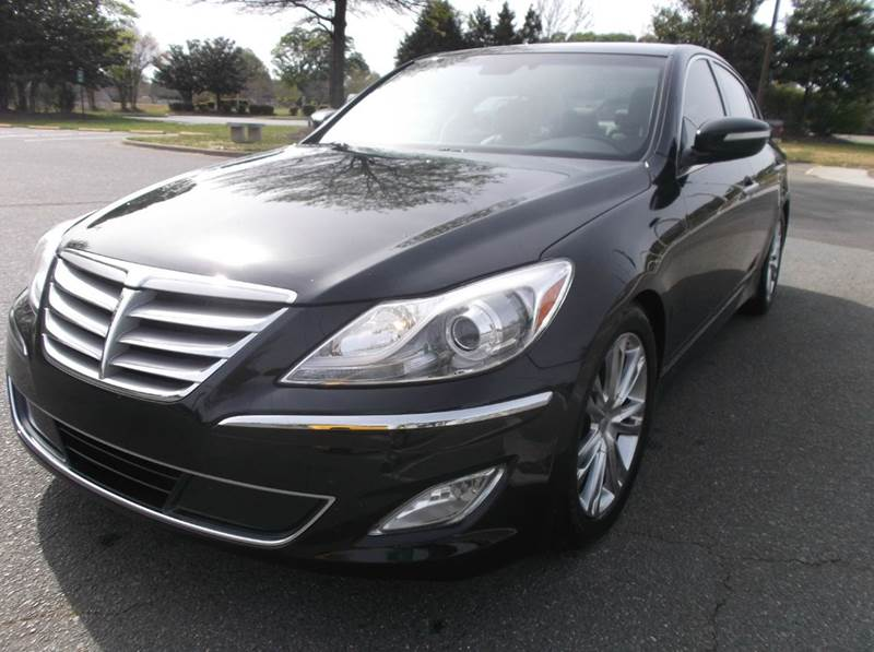 2012 hyundai genesis 3 8l v6 4dr sedan in charlotte nc turn key motors. Black Bedroom Furniture Sets. Home Design Ideas