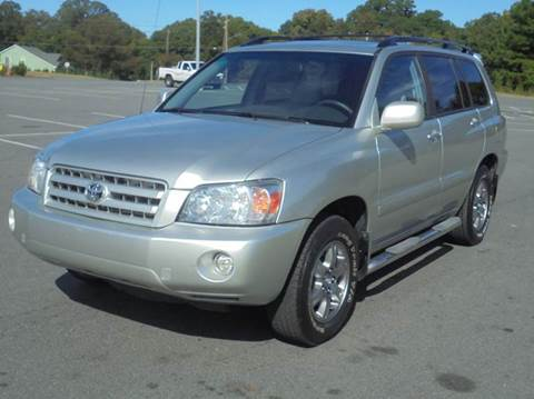 2007 Toyota Highlander for sale in Mint Hill, NC