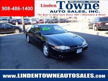 2001 Chevrolet Monte Carlo for sale in Linden, NJ