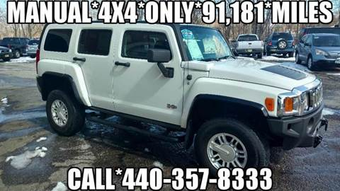 2007 HUMMER H3 for sale in Painesville, OH