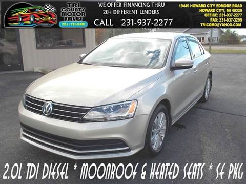 2015 Volkswagen Jetta for sale in Howard City, MI