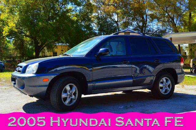 2005 hyundai santa fe gls 4dr suv in deland orlando daytona beach bud lawrence inc. Black Bedroom Furniture Sets. Home Design Ideas