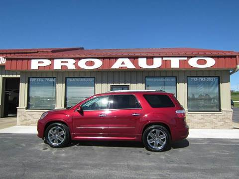 2011 GMC Acadia for sale in Carroll, IA