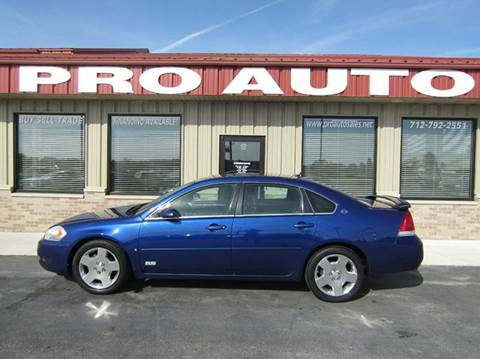 2006 Chevrolet Impala for sale in Carroll, IA