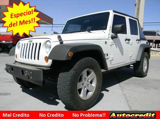 2008 jeep wrangler unlimited x 4x4 suv for sale in el paso. Black Bedroom Furniture Sets. Home Design Ideas