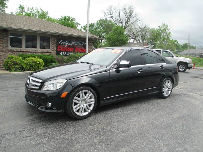 2008 mercedes benz c class c300 luxury 4dr sedan in joplin mo d j auto sales. Black Bedroom Furniture Sets. Home Design Ideas