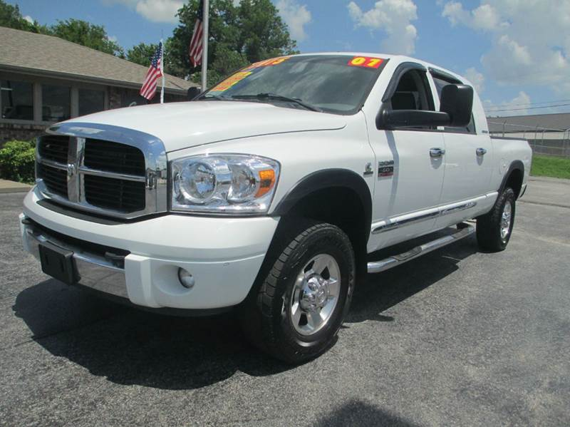2007 dodge ram pickup 2500 laramie 4dr mega cab 4wd sb in joplin mo d j auto sales. Black Bedroom Furniture Sets. Home Design Ideas