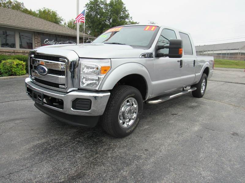 2011 ford f 250 super duty 4x4 xlt 4dr crew cab 6 8 ft sb pickup in joplin mo d j auto sales. Black Bedroom Furniture Sets. Home Design Ideas