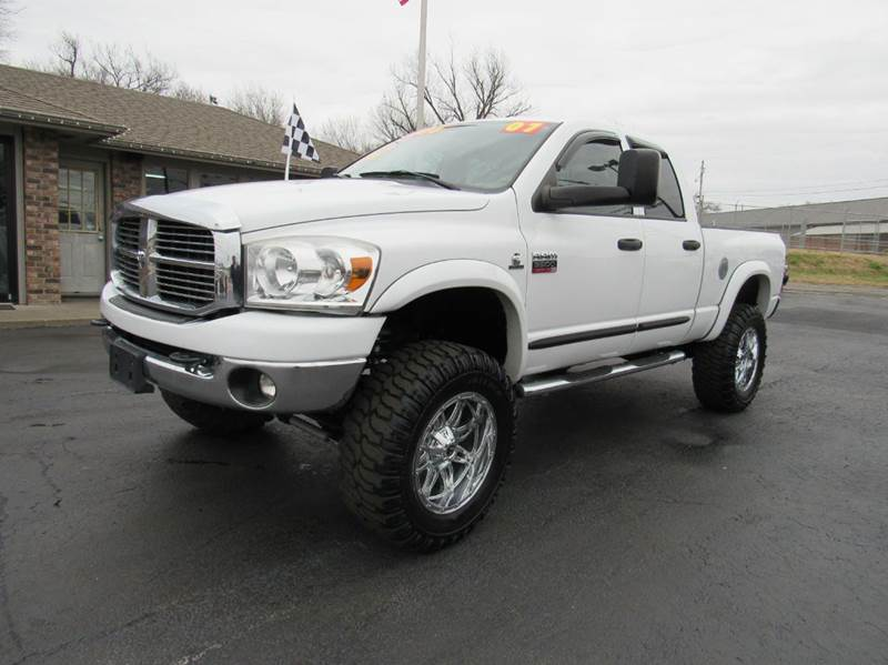 2007 dodge ram pickup 3500 slt 5 9l cummins diesel 4dr quad cab 4x4 sb in joplin mo d j auto. Black Bedroom Furniture Sets. Home Design Ideas