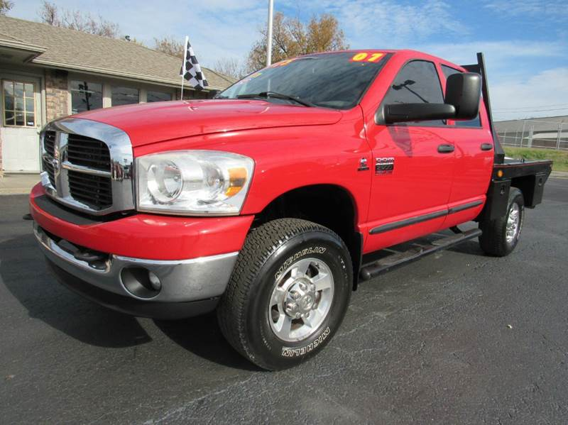2007 dodge ram pickup 2500 slt 4dr quad cab 4x4 sb in joplin mo d j auto sales. Black Bedroom Furniture Sets. Home Design Ideas