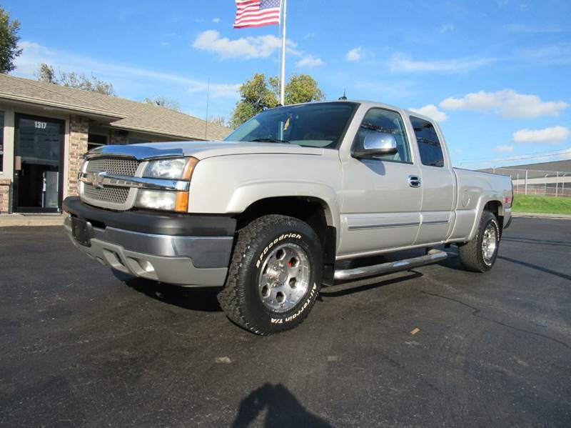 2004 chevrolet silverado 1500 4dr extended cab z71 4wd sb in joplin mo d j auto sales. Black Bedroom Furniture Sets. Home Design Ideas