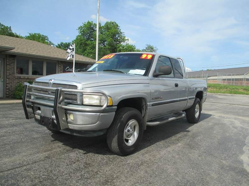1999 dodge ram pickup 1500 4dr laramie slt 4wd extended cab sb in joplin mo d j auto sales. Black Bedroom Furniture Sets. Home Design Ideas