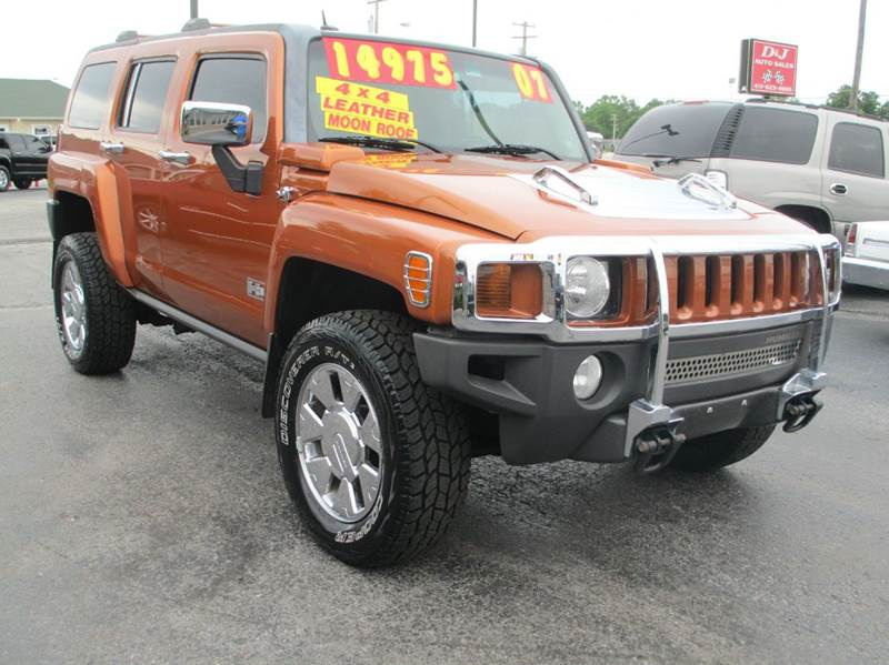 2007 hummer h3 luxury 4dr suv 4wd in joplin mo d j auto sales. Black Bedroom Furniture Sets. Home Design Ideas