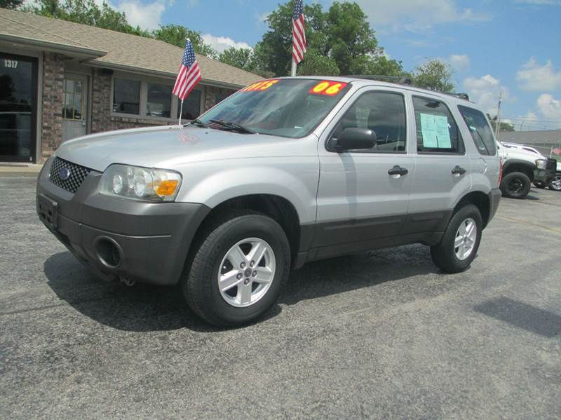 2006 ford escape xls 4dr suv w automatic in joplin mo d j auto sales. Black Bedroom Furniture Sets. Home Design Ideas