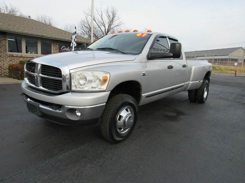 2007 dodge ram pickup 3500 slt 4x4 4dr quad cab lb in joplin mo d j auto sales. Black Bedroom Furniture Sets. Home Design Ideas