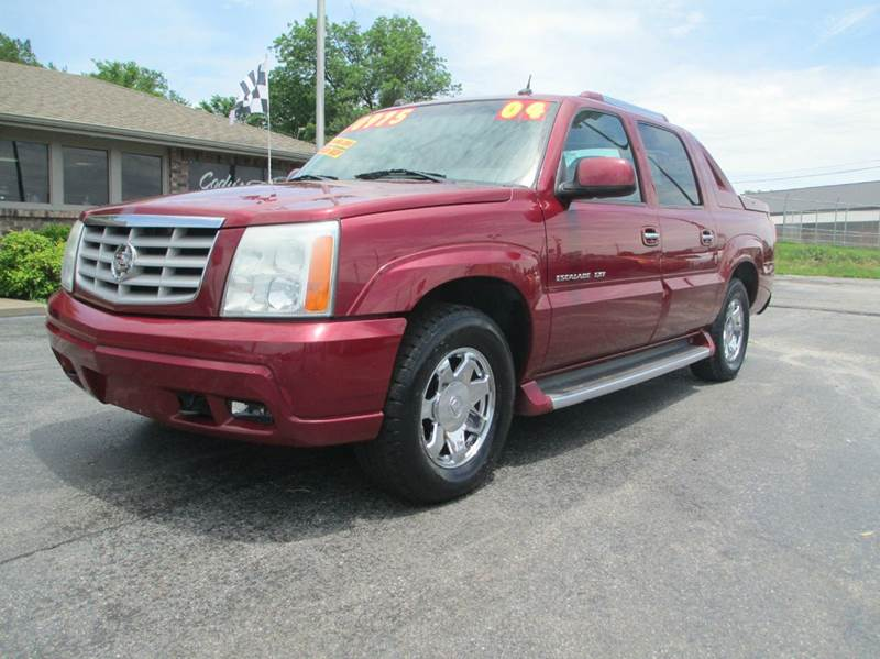 2004 cadillac escalade ext awd 4dr crew cab sb in joplin mo d j auto sales. Black Bedroom Furniture Sets. Home Design Ideas