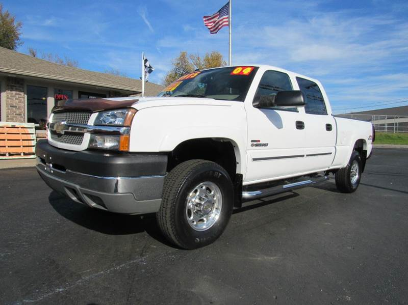 2004 chevrolet silverado 2500hd lt 4dr crew cab 4wd sb in joplin mo d j auto sales. Black Bedroom Furniture Sets. Home Design Ideas