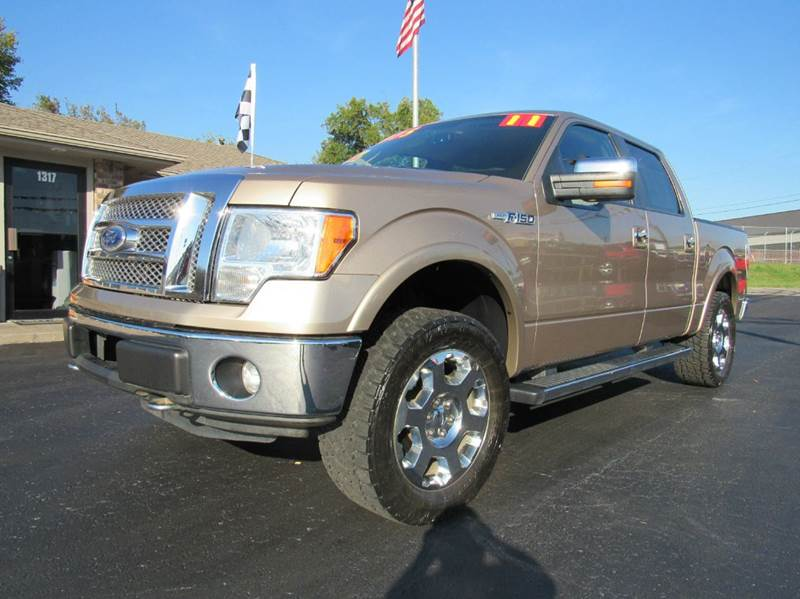 2011 ford f 150 4x4 lariat 4dr supercrew styleside 5 5 ft sb in joplin mo d j auto sales. Black Bedroom Furniture Sets. Home Design Ideas