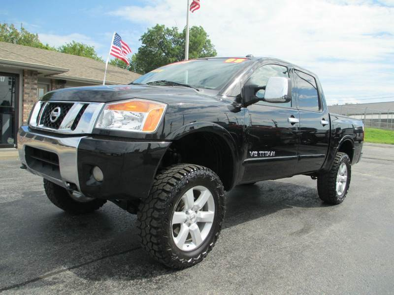 2008 nissan titan 4x4 le ffv 4dr crew cab swb in joplin mo d j auto sales. Black Bedroom Furniture Sets. Home Design Ideas