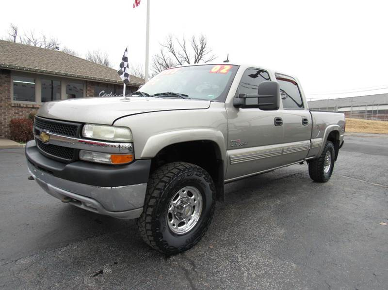 2002 chevrolet silverado 2500hd 4dr crew cab lt 4wd sb in. Black Bedroom Furniture Sets. Home Design Ideas