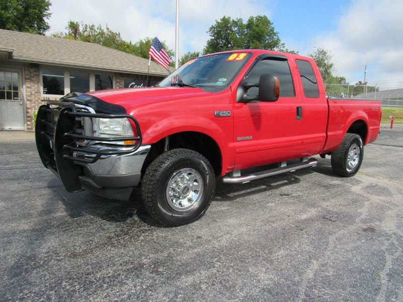 2003 ford f 250 super duty xlt 4dr supercab 4wd sb in joplin mo d j auto sales. Black Bedroom Furniture Sets. Home Design Ideas