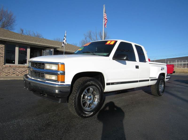 1998 chevrolet c k 1500 series 2dr k1500 silverado 4wd extended cab stepside sb in joplin mo d. Black Bedroom Furniture Sets. Home Design Ideas