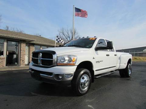 2006 dodge ram pickup 3500 for sale missouri. Black Bedroom Furniture Sets. Home Design Ideas