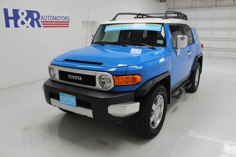 Toyota fj cruiser for sale in texas for H r motors san antonio